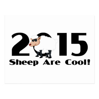 Funny Year of The Sheep Ram Goat 2015 Postcard
