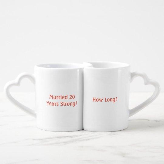 Funny yearly anniversary mugs