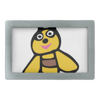 Funny yellow Bee Belt Buckles