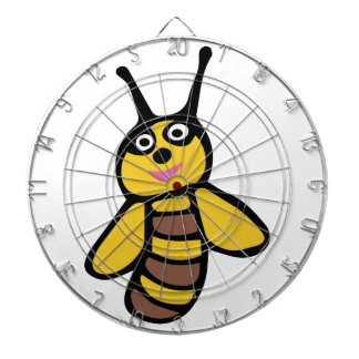 Funny yellow Bee Dartboard