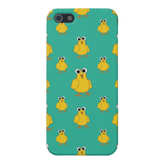 Funny Yellow Chick Pattern iPhone 5 Cases