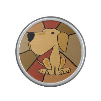 Funny Yellow Labrador Bluetooth Speaker