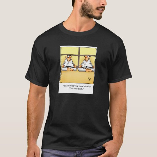 Funny Yoga Humour Tee Shirt