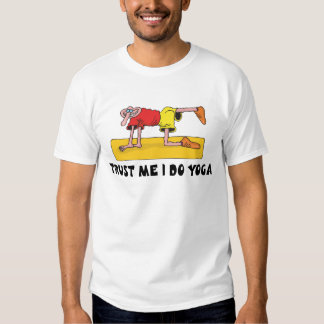 Funny Yoga Tee Shirts