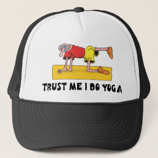 Funny Yoga Trucker Hat