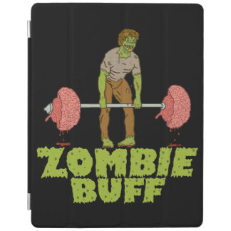 Funny Zombie Buff Weight Lifter iPad Cover