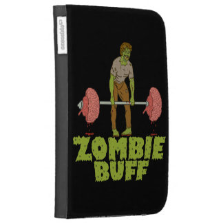 Funny Zombie Buff Weight Lifter Kindle Covers