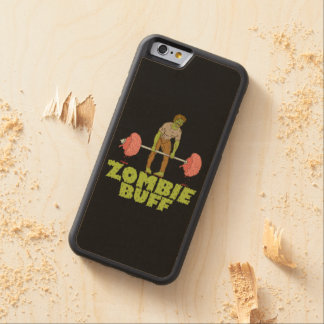 Funny Zombie Buff Weight Lifter Maple iPhone 6 Bumper
