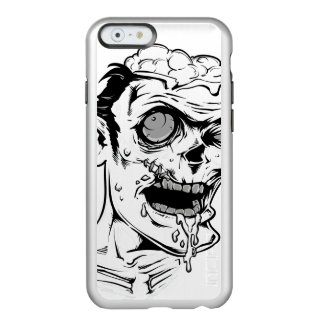 Funny Zombie Horror Face - Cool and Unique Incipio Feather® Shine iPhone 6 Case