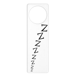 Funny Z's Snoring Do Not Disturb Door Hanger
