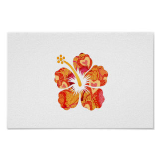 FunTime Hibiscus Poster