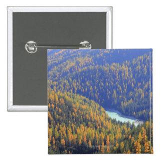 Fuorn Pass 15 Cm Square Badge