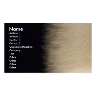 Fur Business Card