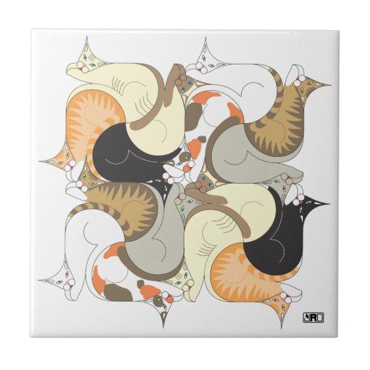 Fur Ellie Ceramic Tile