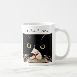 Fur~Ever Friends Basic White Mug