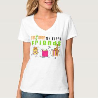 Fur Ever My Furry Friends Cat Shirt