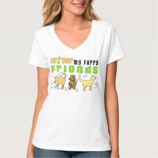 Fur Ever My Furry Friends Dog Shirt