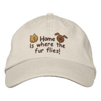 Fur Flies Baseball Cap