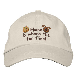Fur Flies Baseball Cap