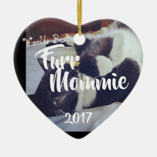 Fur Mom Christmas Ornament
