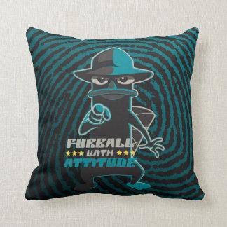 Furball With Attitude Cushion