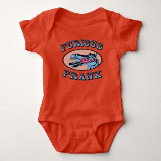 Furious Frank Baby Orange Baby Bodysuit