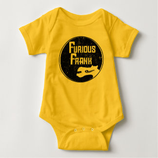 Furious Frank Yellow & Black Baby Bodysuit