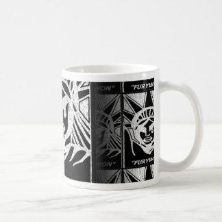 furious liberty basic white mug