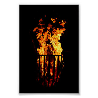 Furnace fire poster