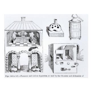 Furnaces and various Apparatus Postcard