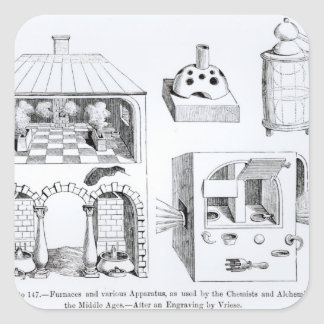 Furnaces and various Apparatus Square Sticker