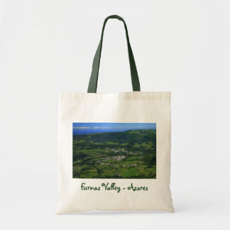 Furnas Valley - Azores Budget Tote Bag