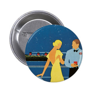 Furness ~ Queen of Bermuda 6 Cm Round Badge