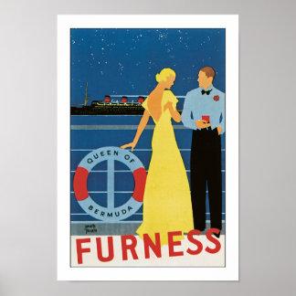 Furness ~ Queen of Bermuda Poster