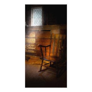 Furniture - Chair - Forgotten Memories Photo Greeting Card