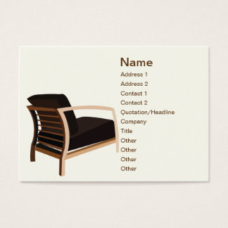 Furniture - Chubby Business Card