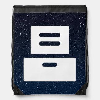 Furniture Drawers Minimal Drawstring Backpack