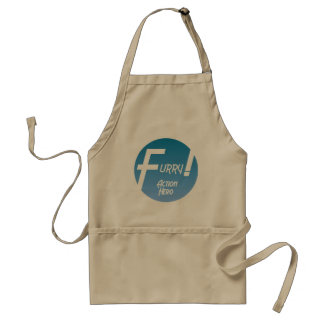 Furry Action Hero! Standard Apron