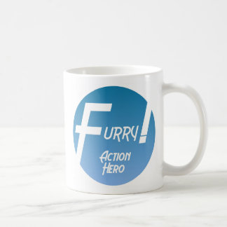 Furry Action Hero! Mugs
