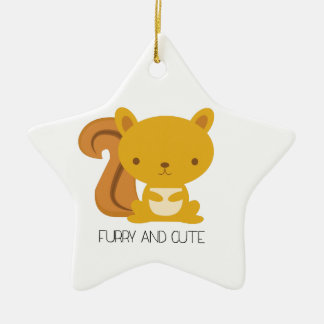 Furry And Cute Christmas Ornament