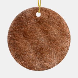 Furry Animal Christmas Ornament