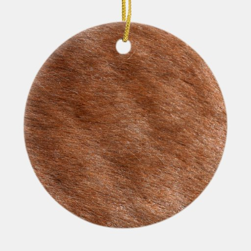 Furry Animal Christmas Ornament