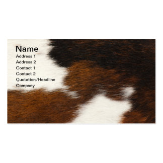 Furry background business cards
