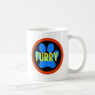 Furry Basic White Mug