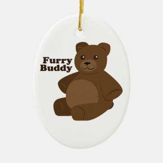 Furry Buddy Christmas Ornament