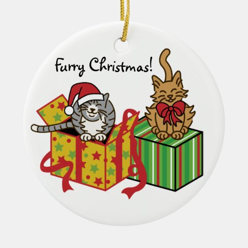 Furry Christmas! Christmas Tree Ornaments