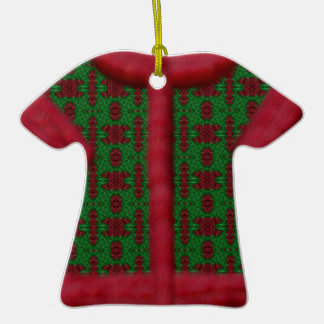 Furry Christmas Sweater Ornament