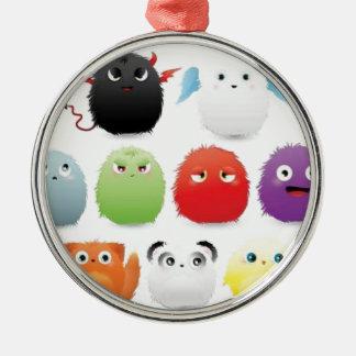 Furry creatures ornaments
