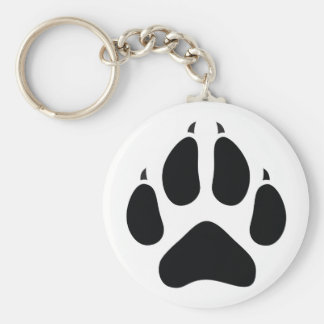 Furry Fandom Basic Round Button Key Ring