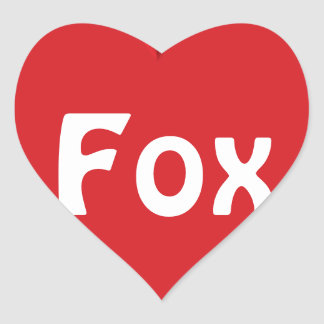 Furry Fandom Heart Sticker